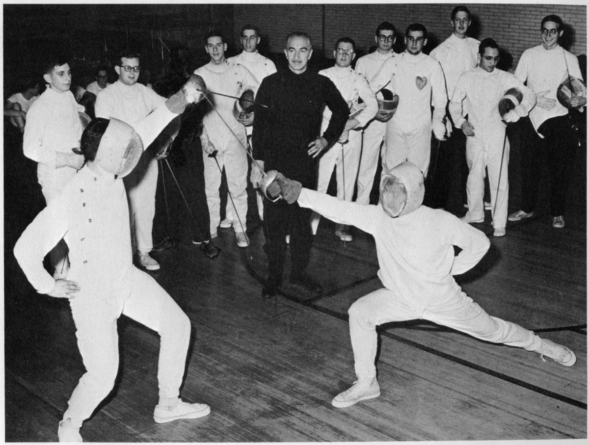 Uncategorized Old Fencing yeshiva college fencing today